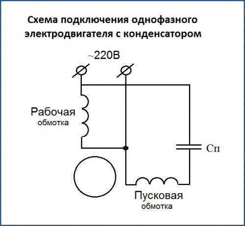 Однофазные электродвигатели 220в: реверс двигателя переменного тока, подбор конденсатора, технические характеристики