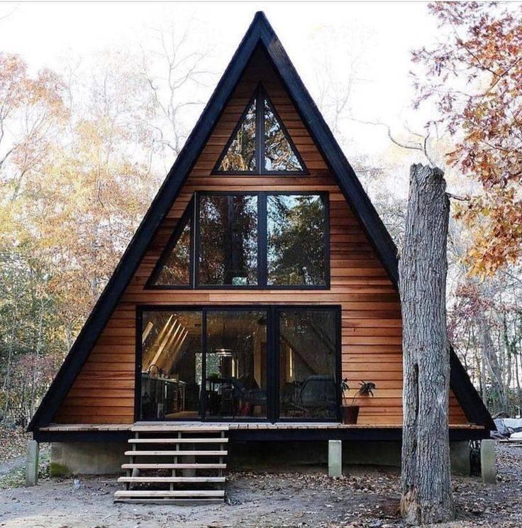 Дом-шалаш: 100+ фото фасадов [красивые дома 2019]