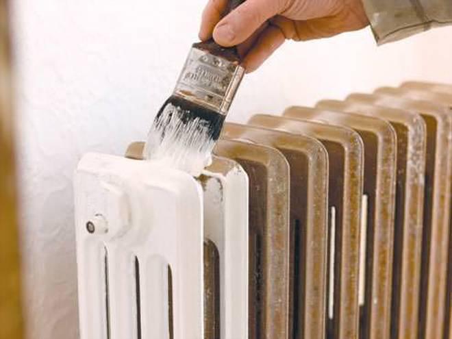 Краска для батареи отопления: выбор и использование