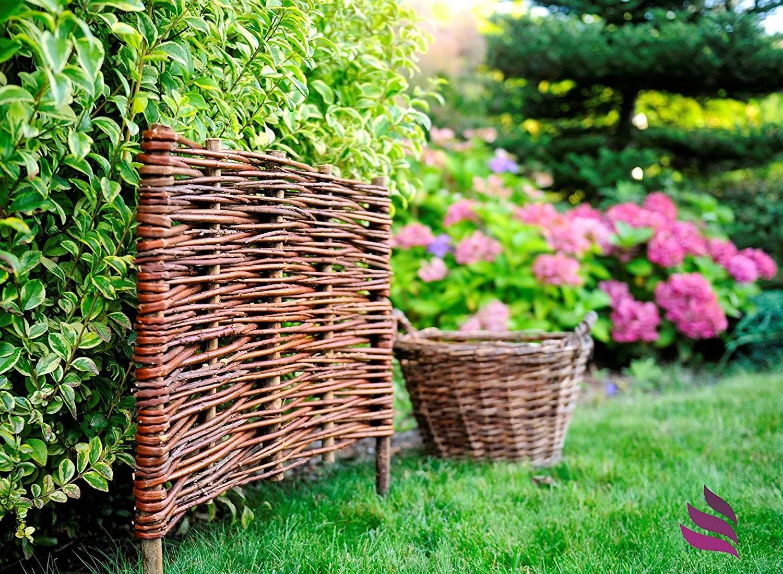 Плетень своими руками: технология сооружения плетеной изгороди, а также идеи по ее декорированию