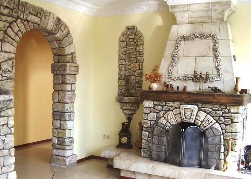 Отделка камина (100 фото): чем отделать камин-печь в современном стиле, отделывают мрамором, деревом и керамогранитом
