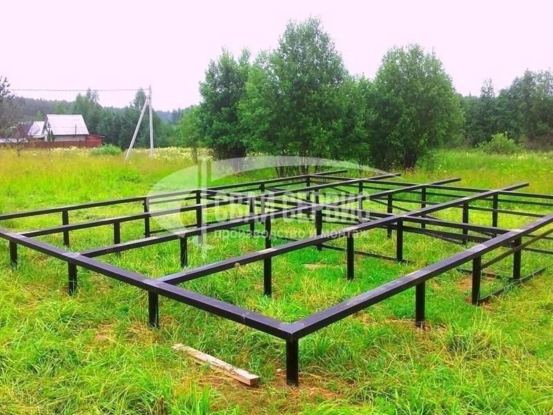 Свайный фундамент: классификация и технология установки