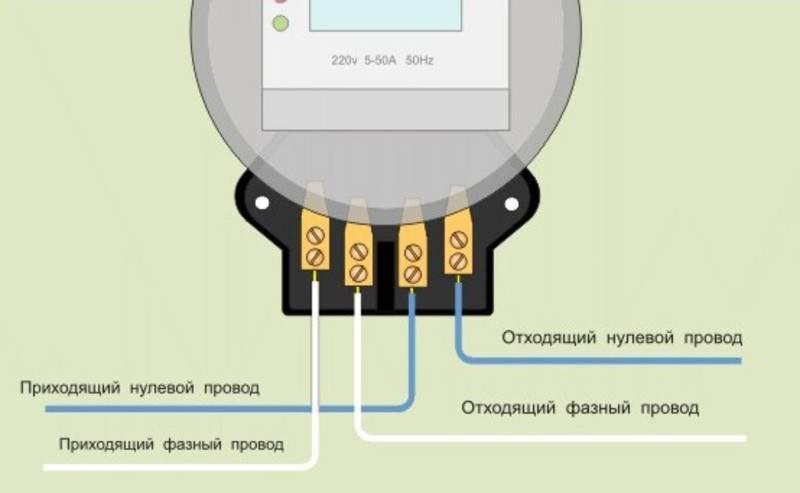 Нужно ли подсоединять ноль к счётчику учёта электроэнергии марки со-эа10д? - электрик