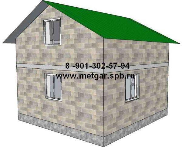 Дом из газобетона — расчет стоимости и толщины стен