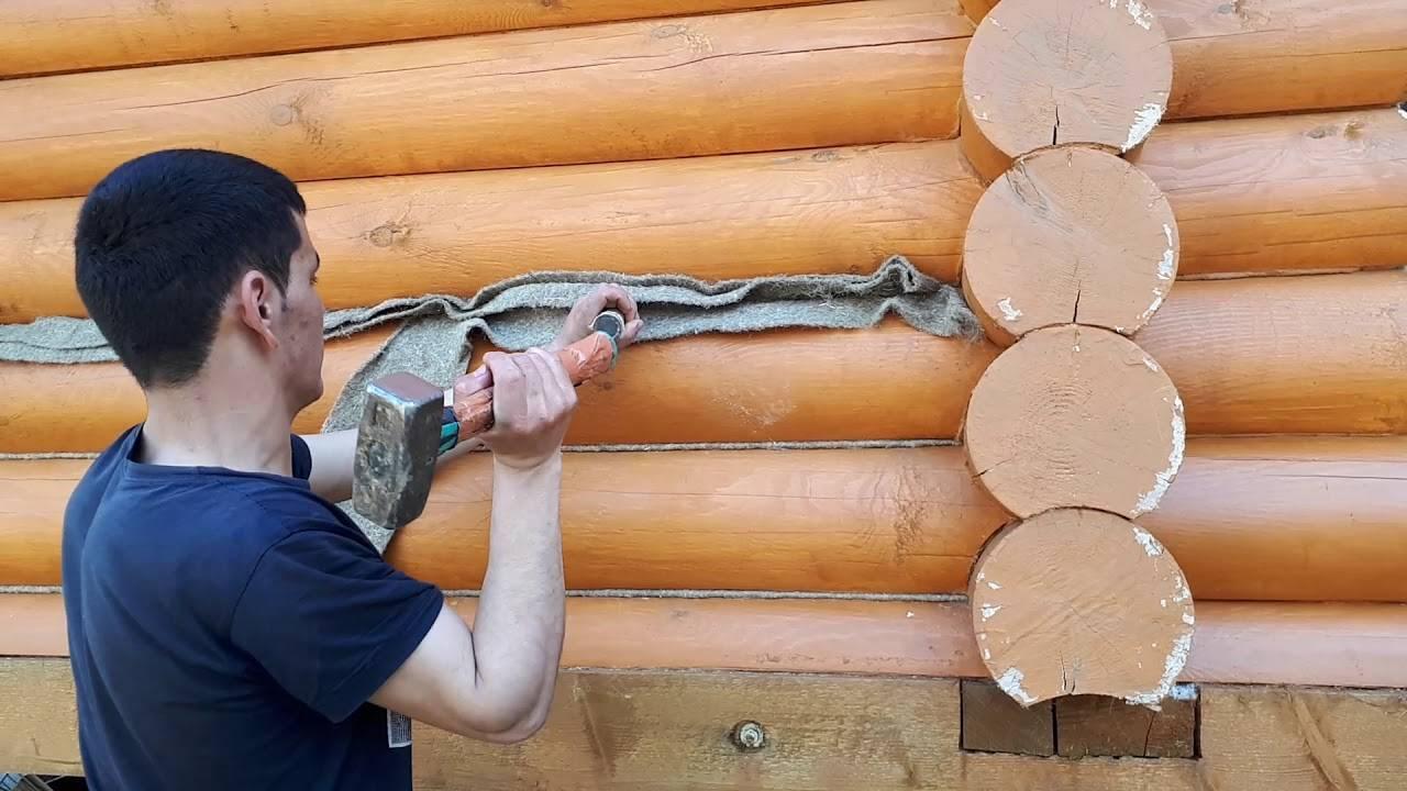 Конопатка (32 фото): что это и как правильно конопатить дом из бруса и сруба джутом своими руками? чем еще можно конопатить деревянный дом?