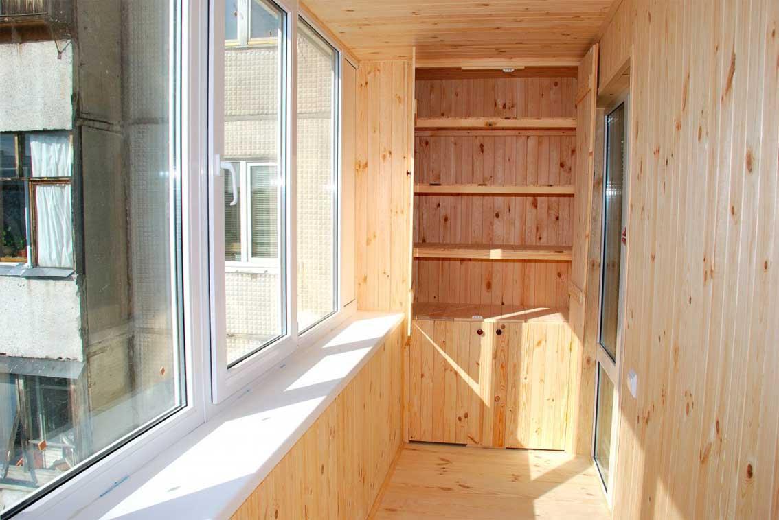 Как обшить балкон вагонкой своими руками - пошаговая инструкция с фото и видео