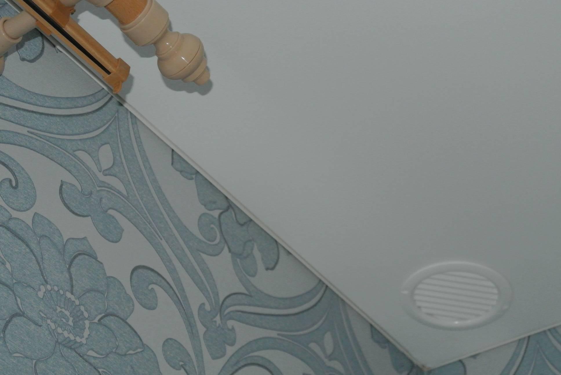 Вентиляция в натяжном потолке на кухне: вытяжка в навесном в ванной и проходка, как сделать