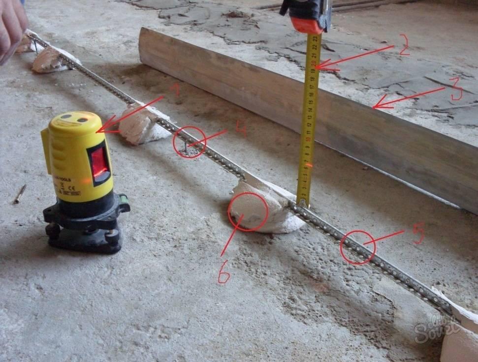 Как пользоваться строительным лазерным уровнем