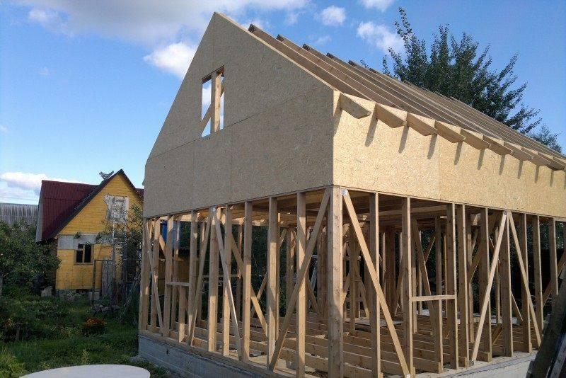 Пирог стены каркасного дома: правильное устройство, а также канадская технология строительства своими руками из доски естественной влажности и из чего делают?