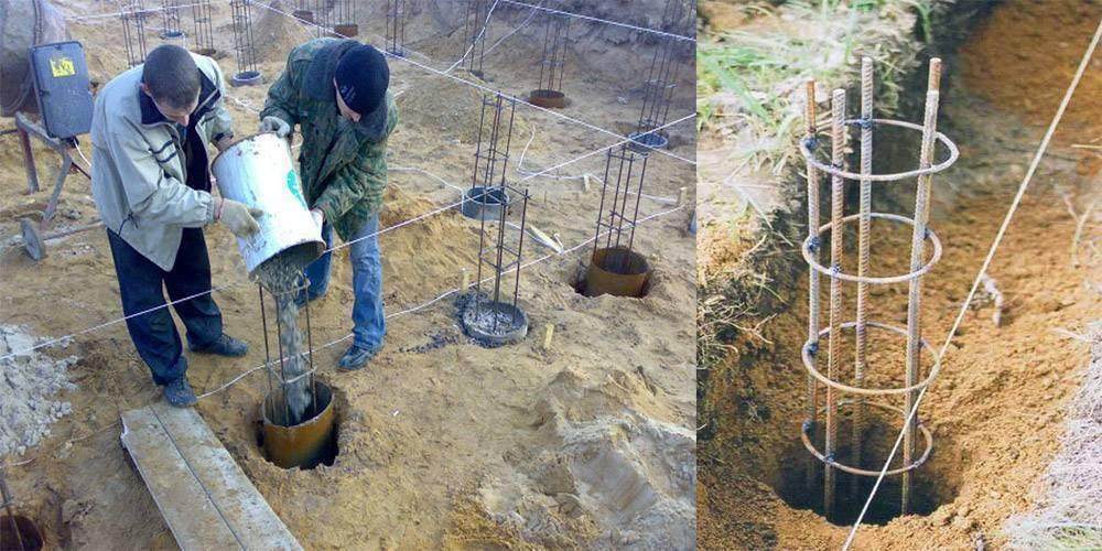 Как построить вечный свайный фундамент даже на плохом грунте
