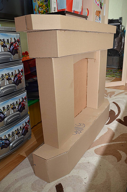 Мастер-класс по созданию декоративного камина из коробок своими руками. интересные фото-идеи и эксперименты! | папа мастер!