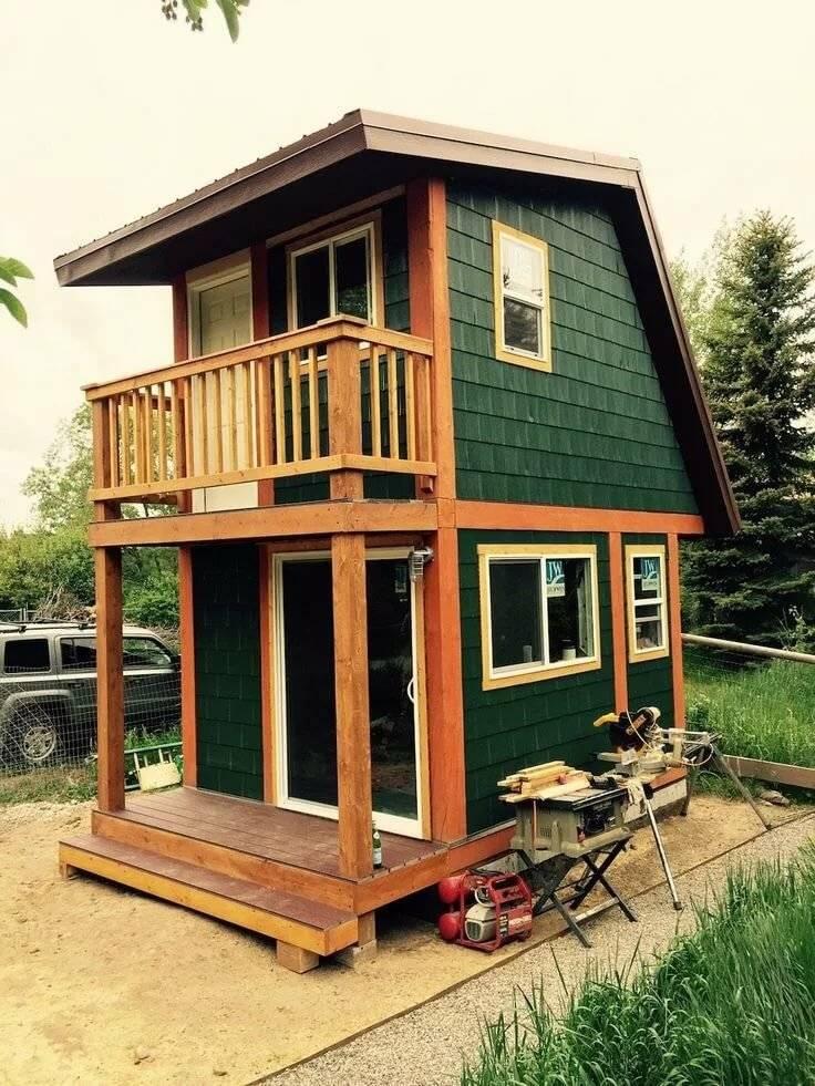 Как недорого построить садовый домик (бытовку) для дачи?