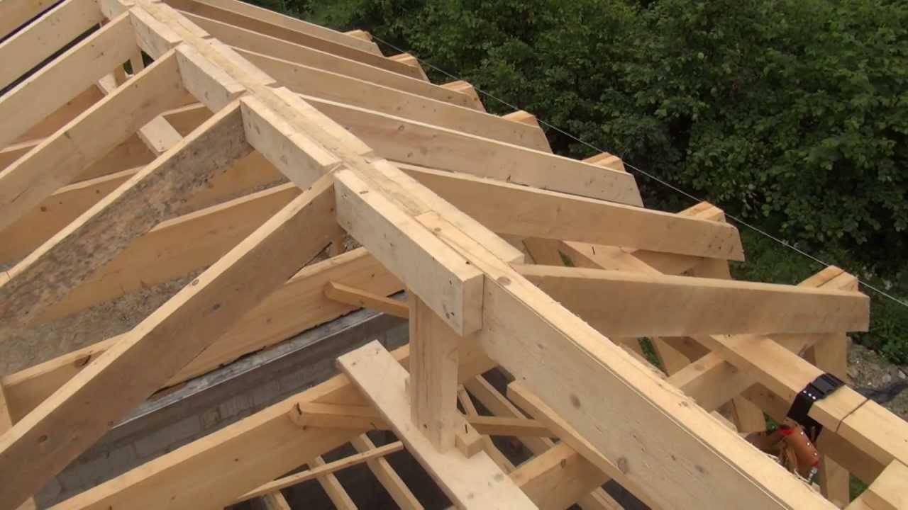 Как сделать крышу своими руками: пошаговое руководство к действию с видео