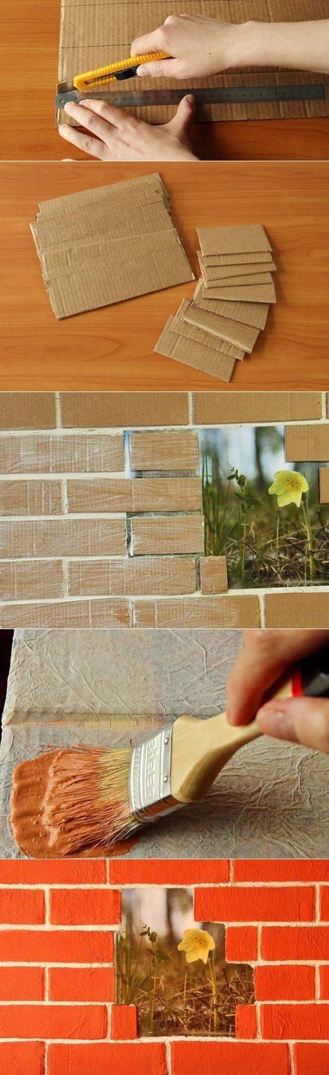Имитация кирпича – лучшие варианты применения кладки для внутренней отделки (95 фото-идей)