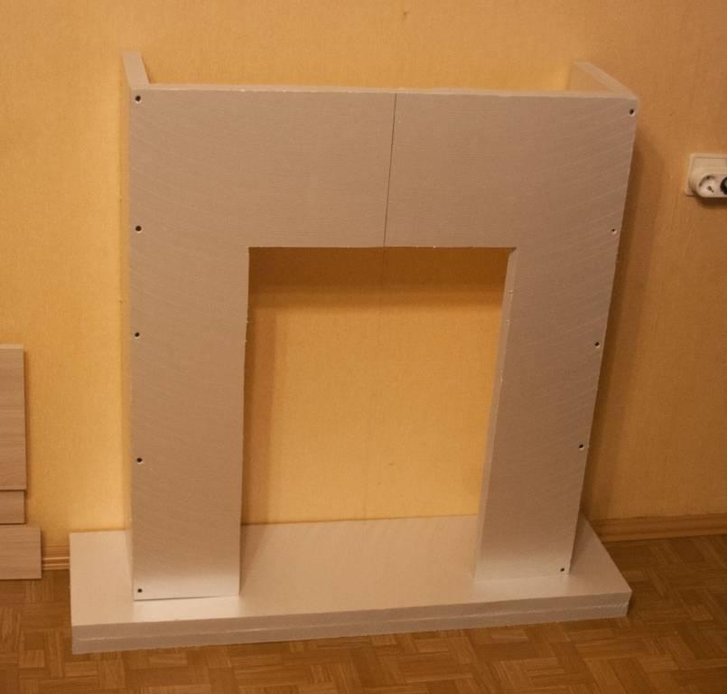 Как сделать камин из картона: советы и рекомендации
