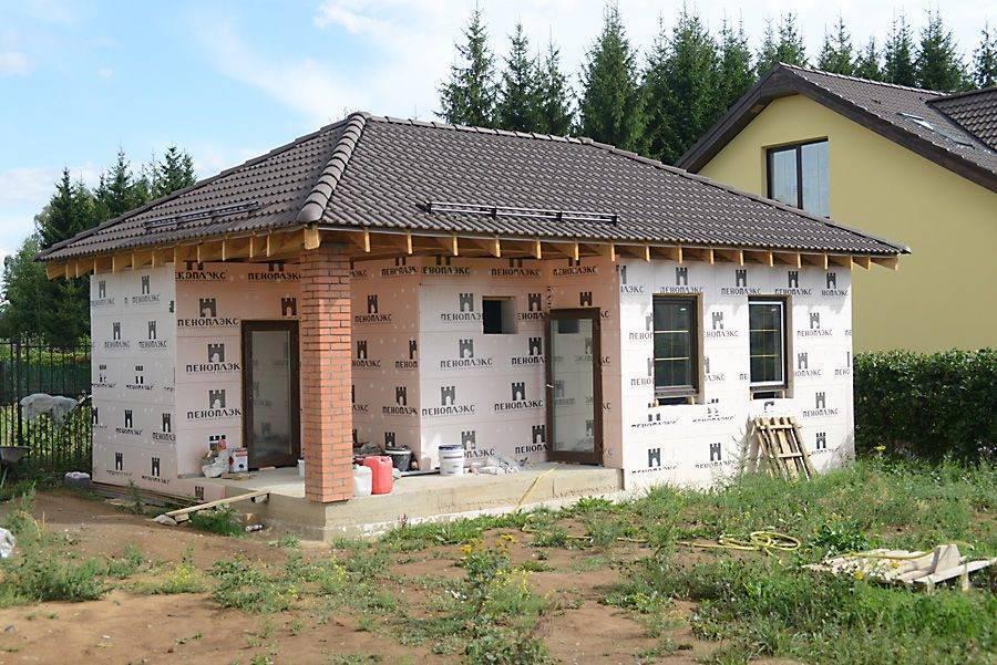 Строительство дачных домов из пеноблоков своими руками: преимущества, этапы, рекомендации (видео)