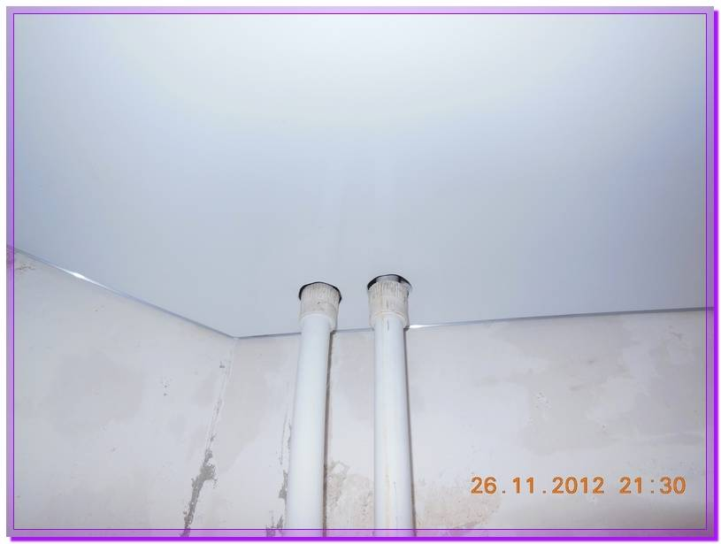 Как сделать отверстие в натяжном потолке?