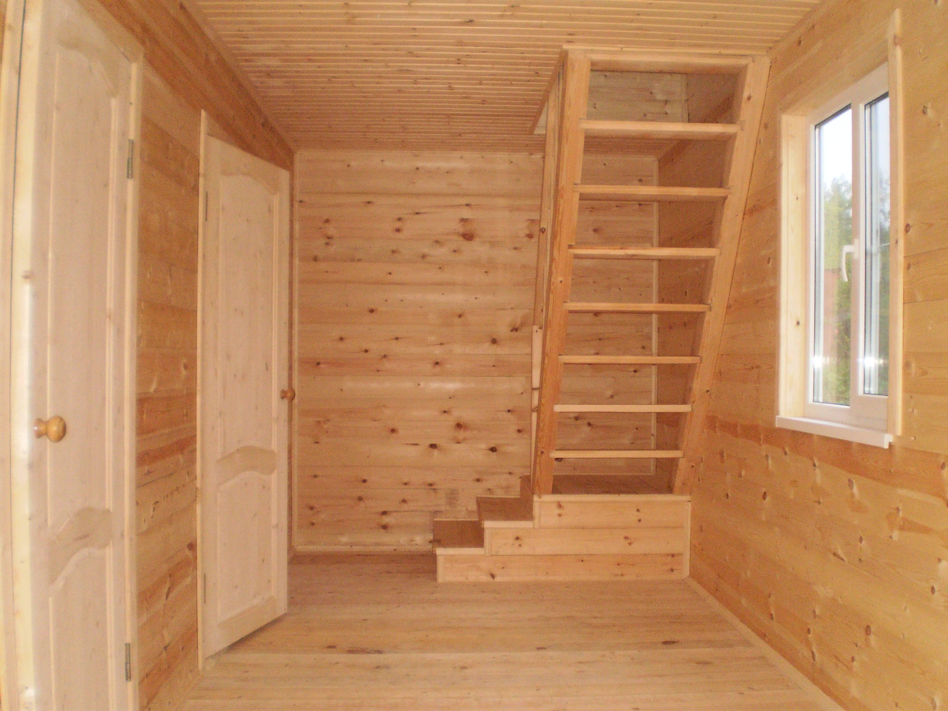 Внутренняя отделка дома из бруса: материалы и правила