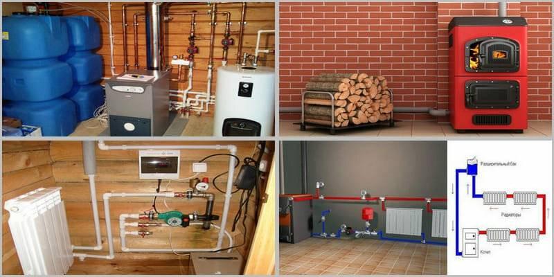 Отопление газовыми баллонами в частном доме