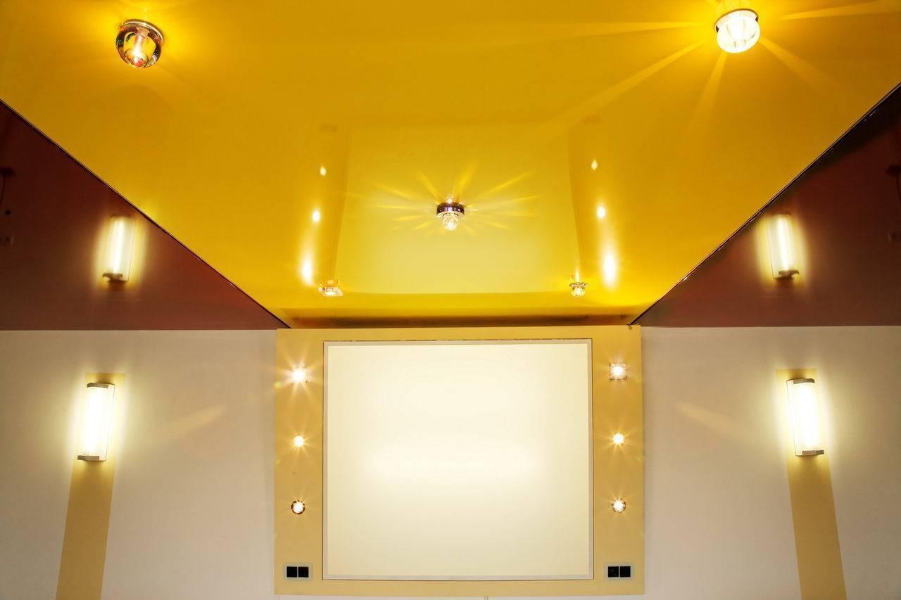 Натяжные потолки: плюсы и минусы установеки в квартире