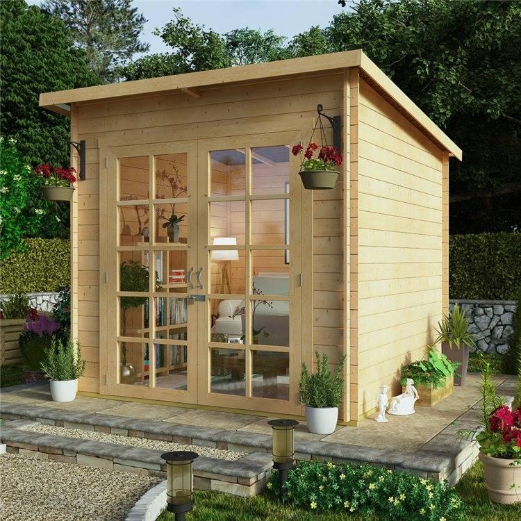 Садовые домики экономкласса: разновидности и советы по выбору