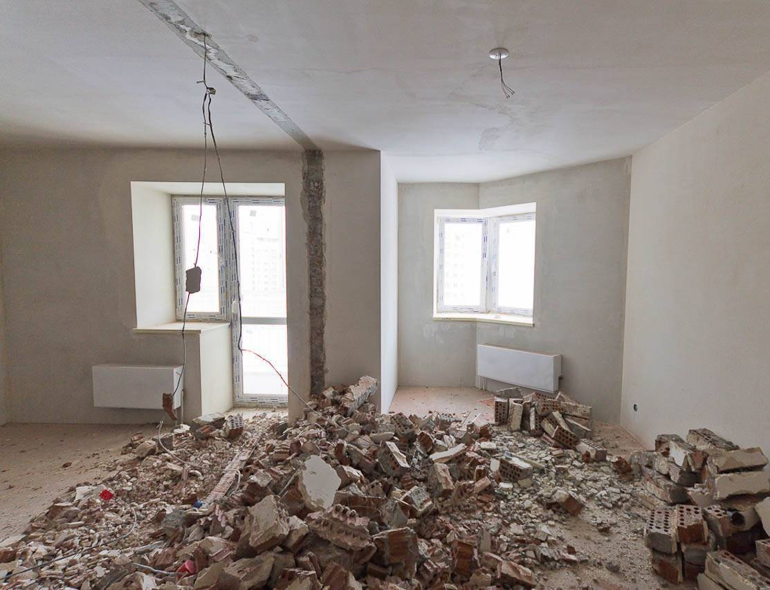С чего начать ремонт квартиры в новостройке с черновой отделкой?