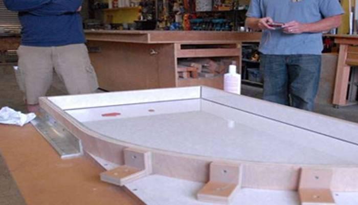 Жидкий камень для столешницы: как сделать искусственный камень своими руками, изготовление акриловой столешницы