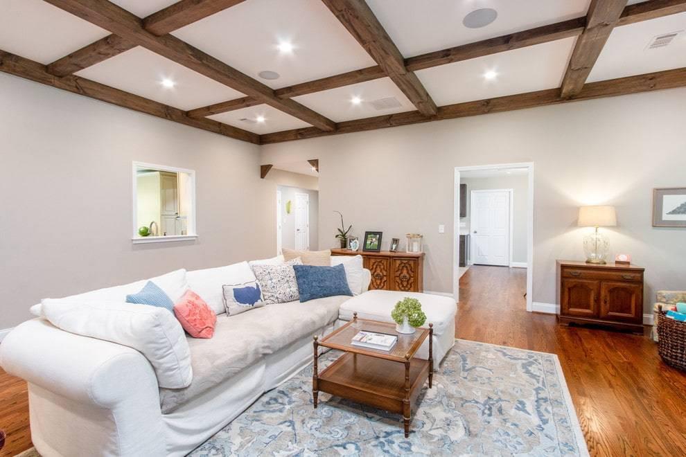Как визуально увеличить высоту потолка в квартире, в доме (+фото)