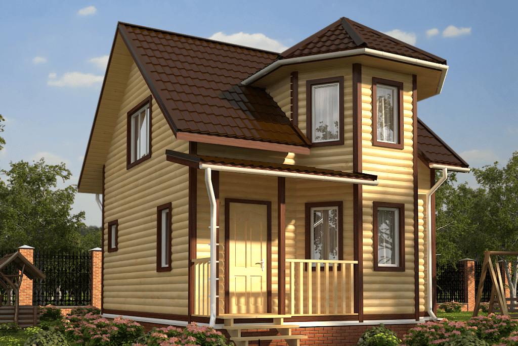 Дома из бруса с эркером: особенности конструкции, проекты, материалы
