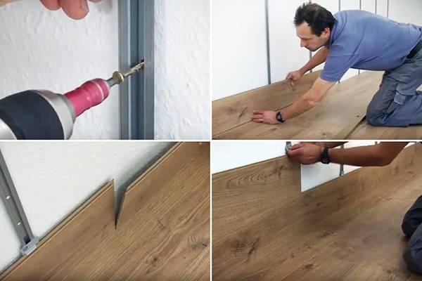 Как крепить ламинат на потолок: простые советы