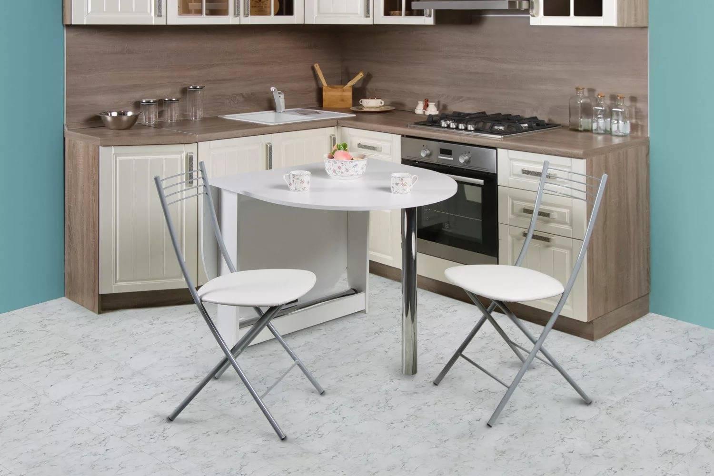 Раскладной кухонный стол: как выбрать, размеры