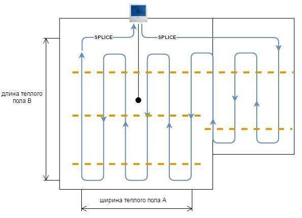 Теплый пол электрический и его расход энергии