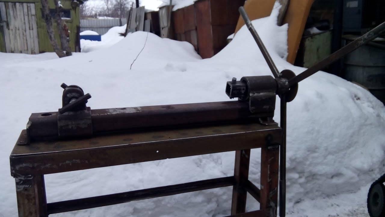 Станок для холодной ковки своими руками