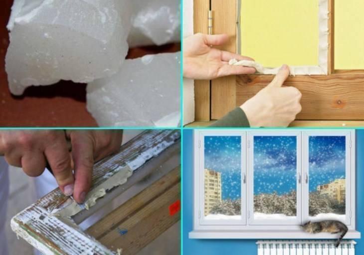 7 советов, как утеплить пластиковые окна своими руками  | строительный блог вити петрова