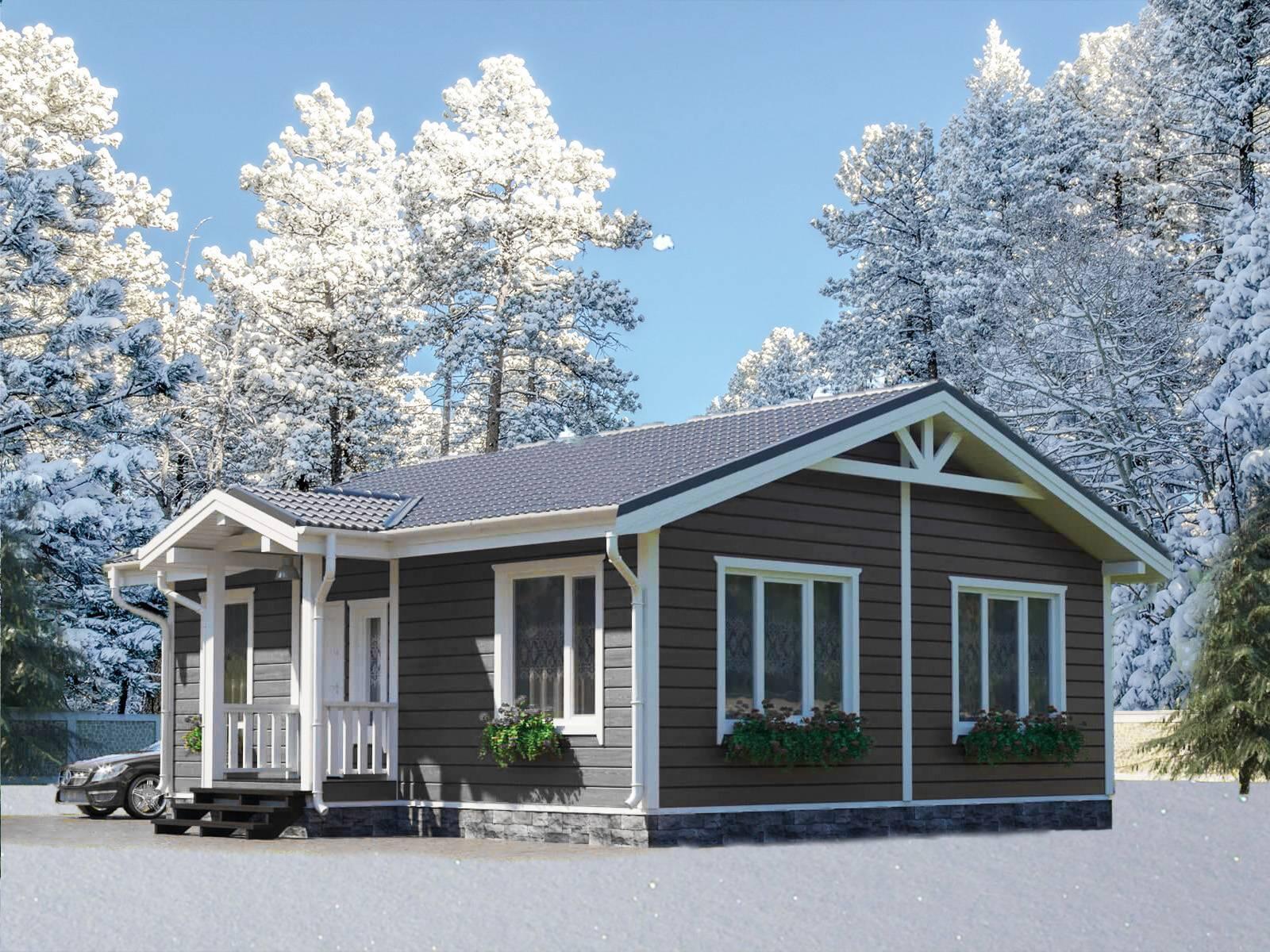 Какие бывают дома с односкатной крышей: фото проектов + достоинства и недостатки таких крыш