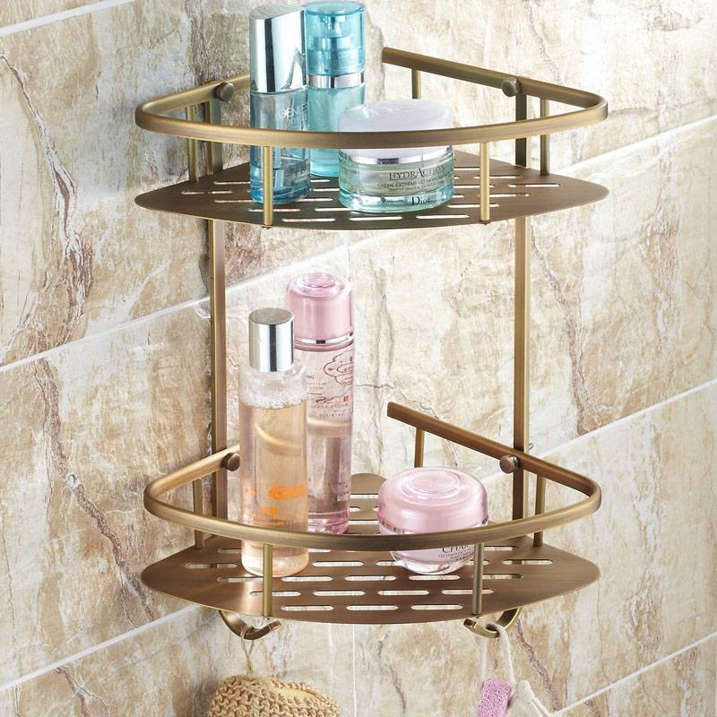 Деревянная полка для ванной: навесные полочки из дерева в ванную комнату, угловые и под раковину, другие варианты