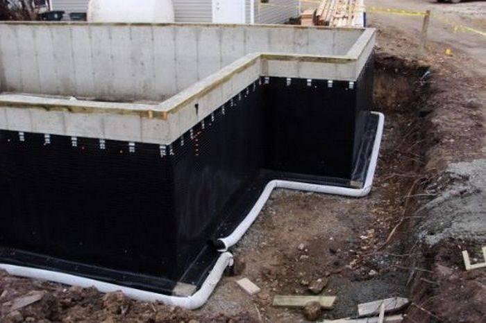 Можно ли делать ленточный фундамент при высоком уровне грунтовых вод? - patsi.ru