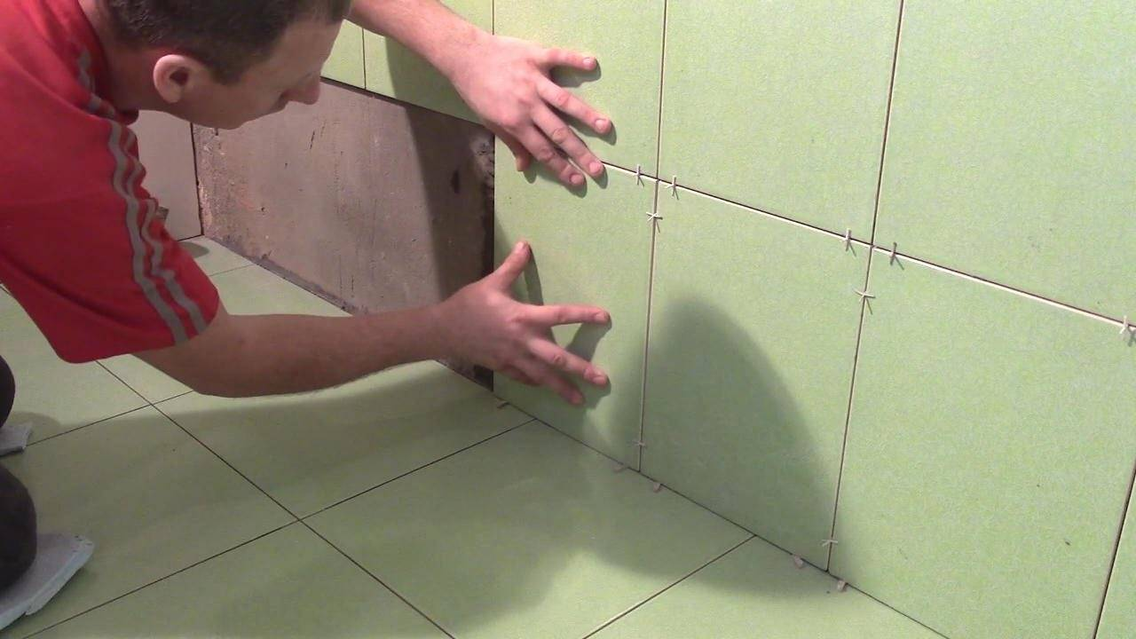 Как класть плитку на стену: технология правильной укладки - все про керамическую плитку