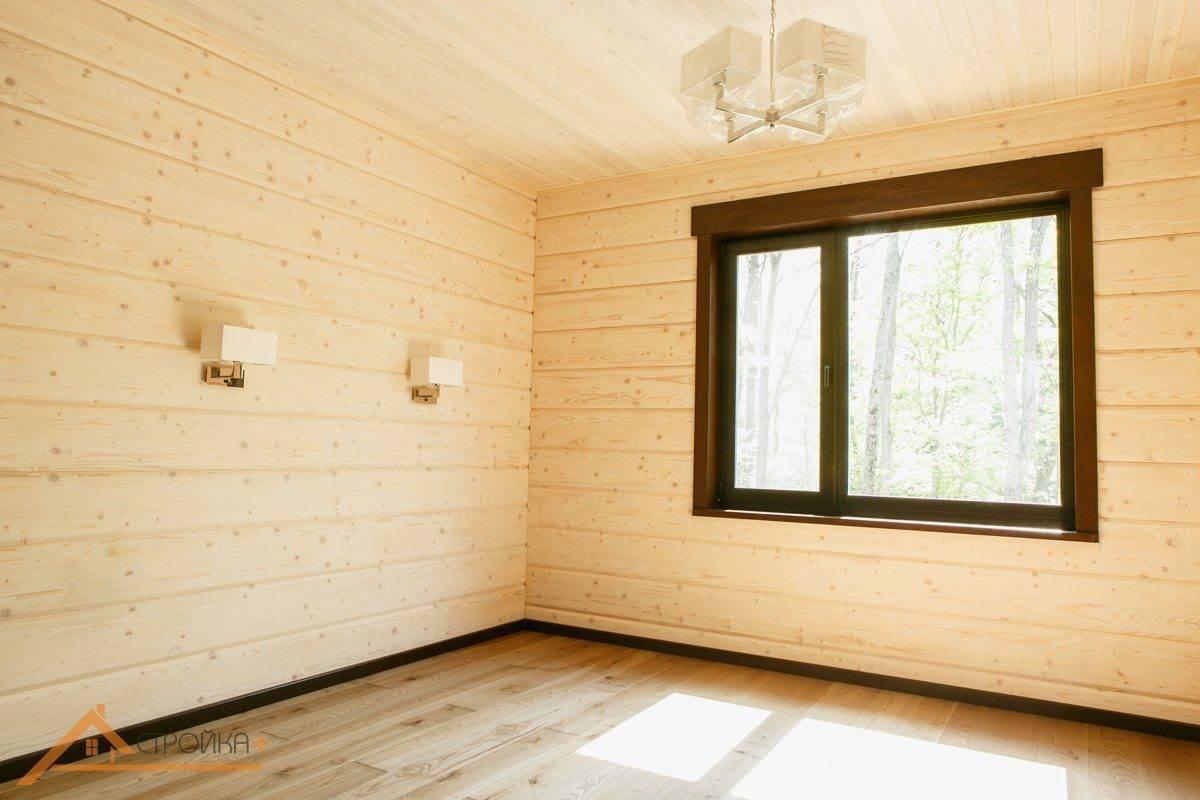 Чем обшить дом изнутри: отделка стен брусового дома