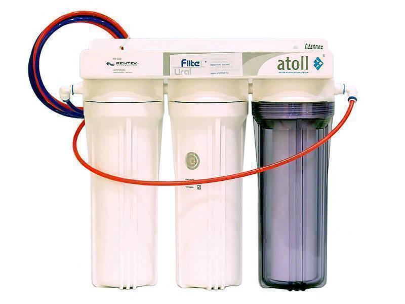 Разновидности фильтров для воды под мойку