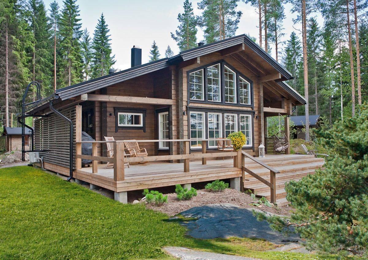 Домокомплекты из бруса от завода производителя honkatalot - финские деревянные дома polar life haus