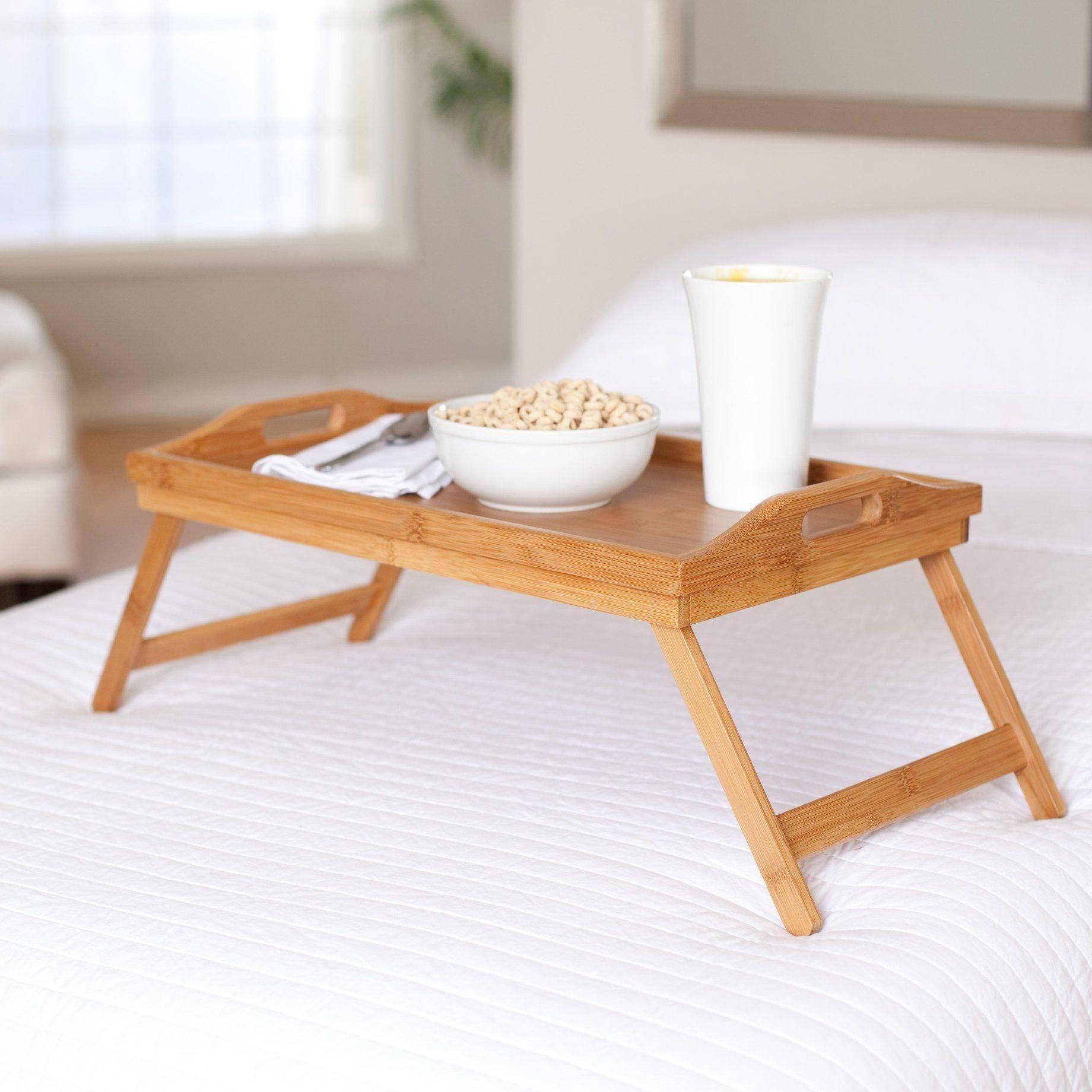 Столик для завтрака в постель размеры чертеж