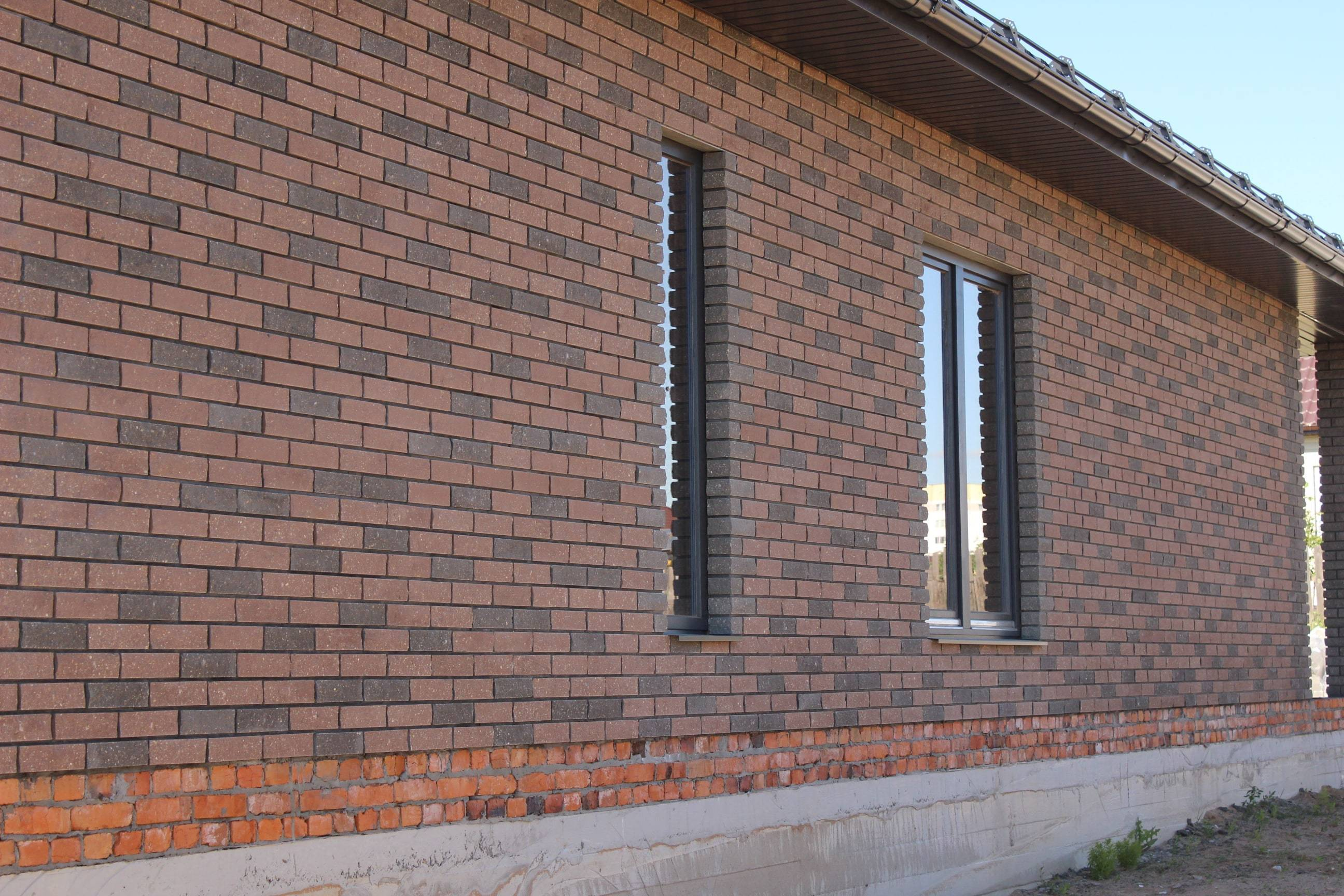 Баварская кладка кирпича - фото домов, схемы кладки