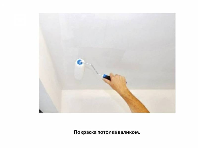 Техника и хитрости покраски потолка валиком