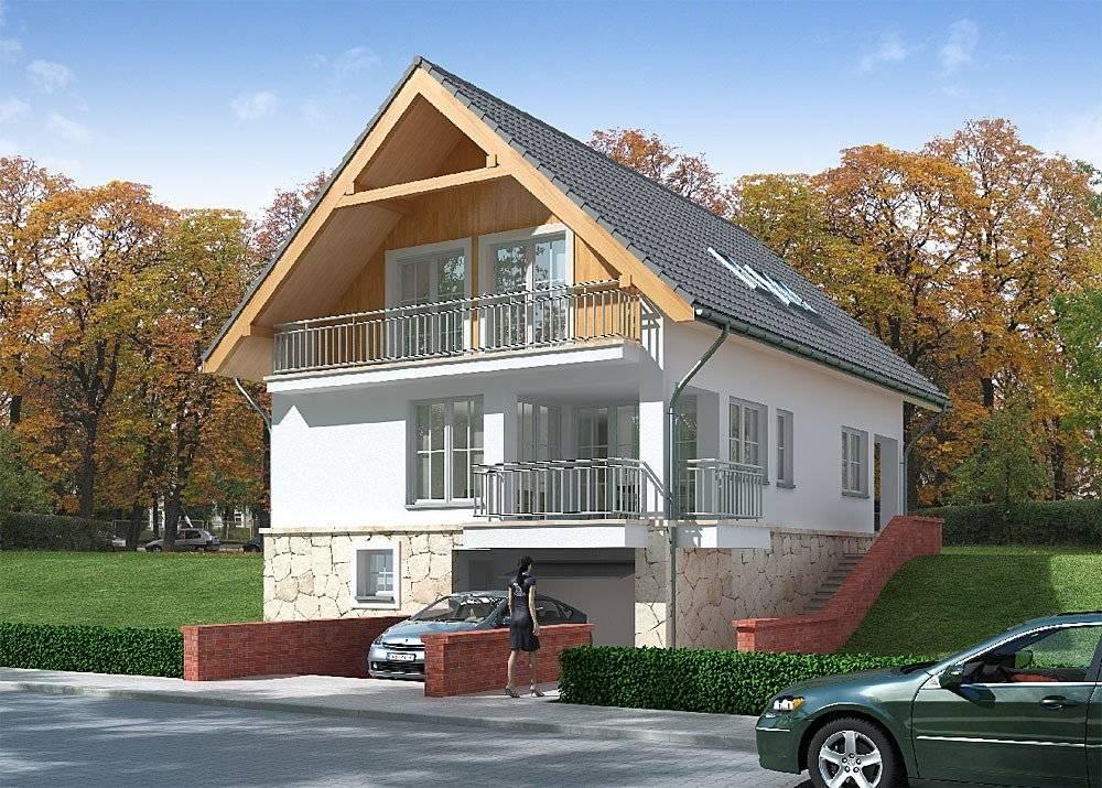 Проекты домов с мансардой и гаражом: максимальное удобство и уют