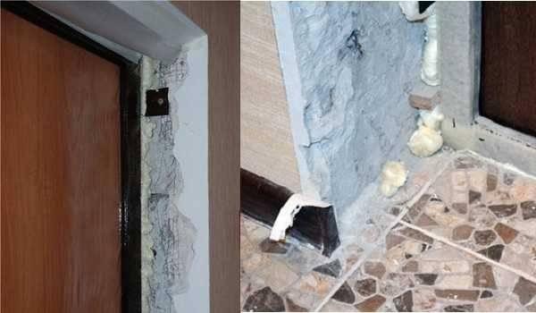 Откосы из гипсокартона для окон и дверей