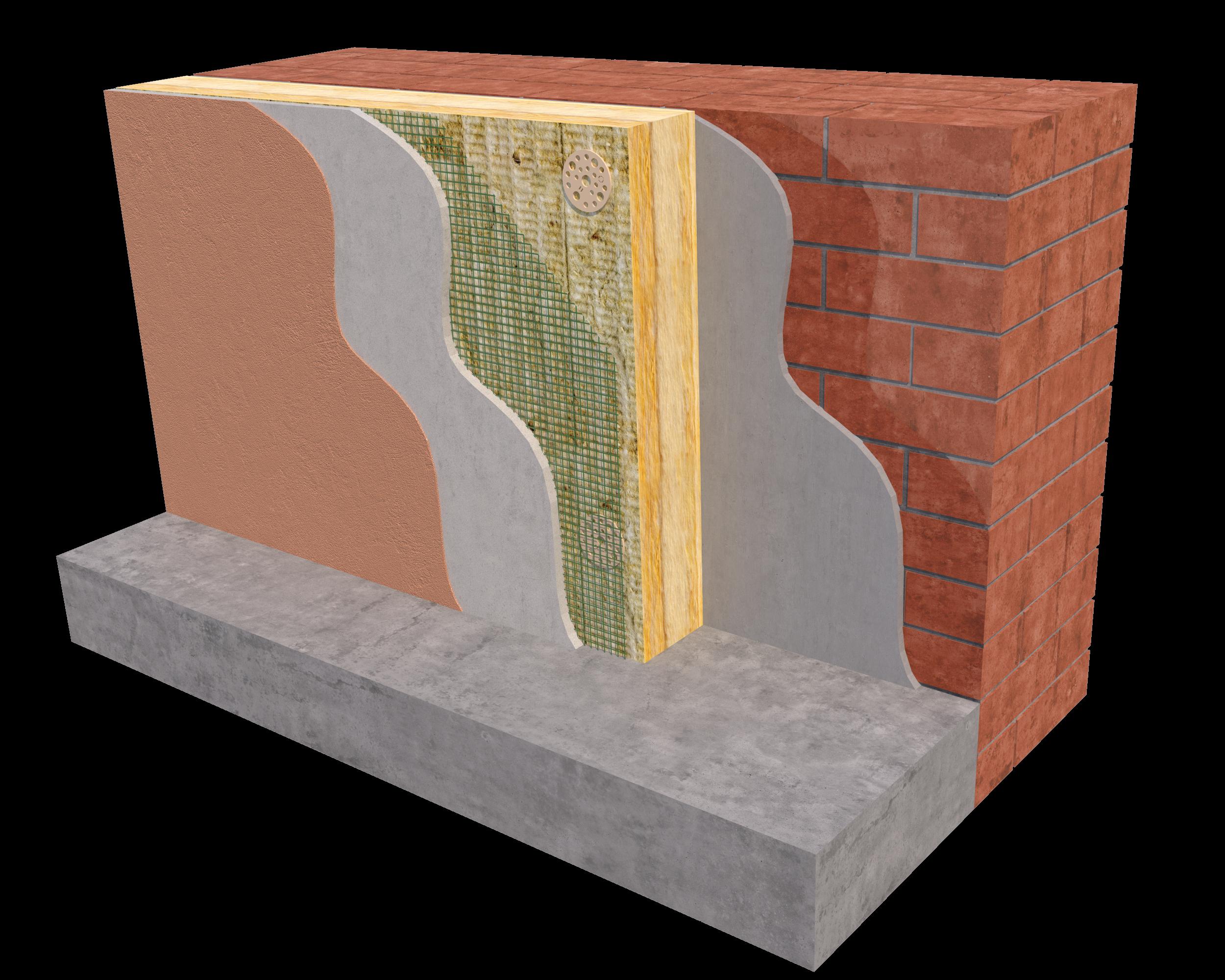 Технология утепления фасадов минватой (минеральной ватой) своими руками