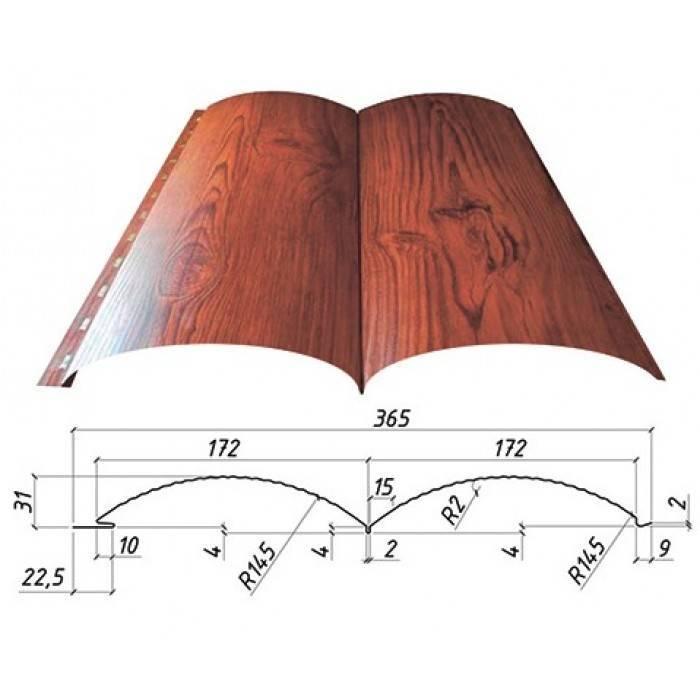 Металлический сайдинг блок хаус: основные особенности и сферы применения