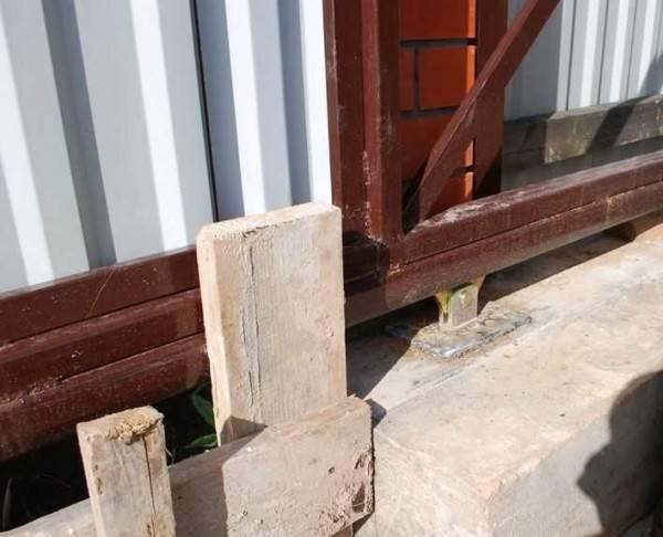 Как сделать откатные ворота – советы специалиста – свой дом мечты