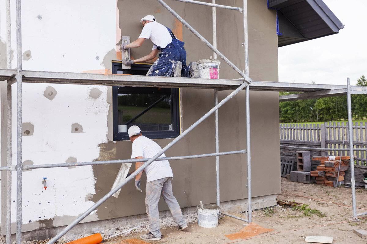 Технология мокрого фасада попенопласту: правила монтажа, расход истоимость закв.м.